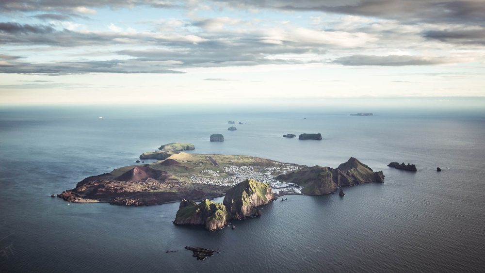 New island in Iceland - Westman Islands