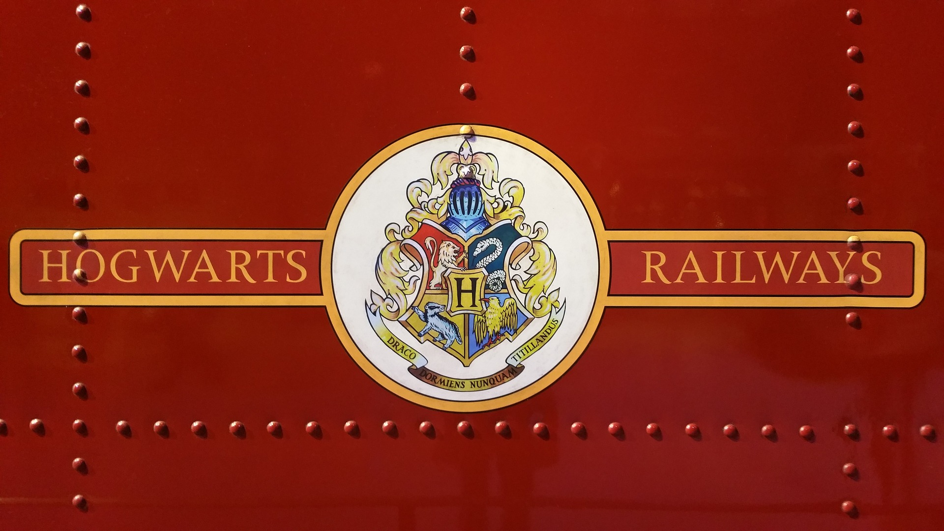 Harry potter hogwarts express logo