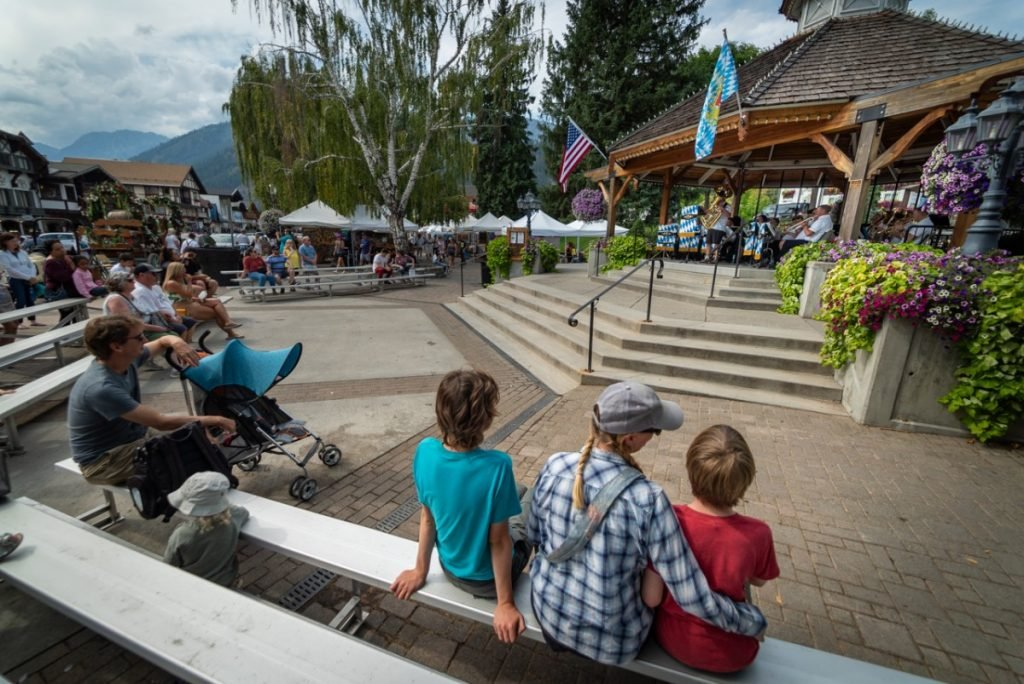 Summer festivals in Leavenworth