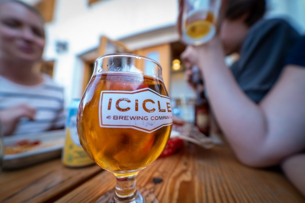 best brewery in Leavenworth is Icicle Brewing Company