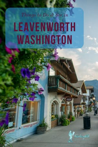 Best Things to Do In Leavenworth Washington: Just over two hours from Seattle, Leavenworth's Bavarian-themed architecture draws many tourists, especially during popular times like Oktoberfest and the Christmas lighting ceremonies. Check out our guide for what to see and do in this charming town! Washington State | PNW road trip | German town near Seattle | Leavenworth things to do | Cascade Mountains | Bavarian Village | Leavenworth hotels | wineries | day trips from Seattle