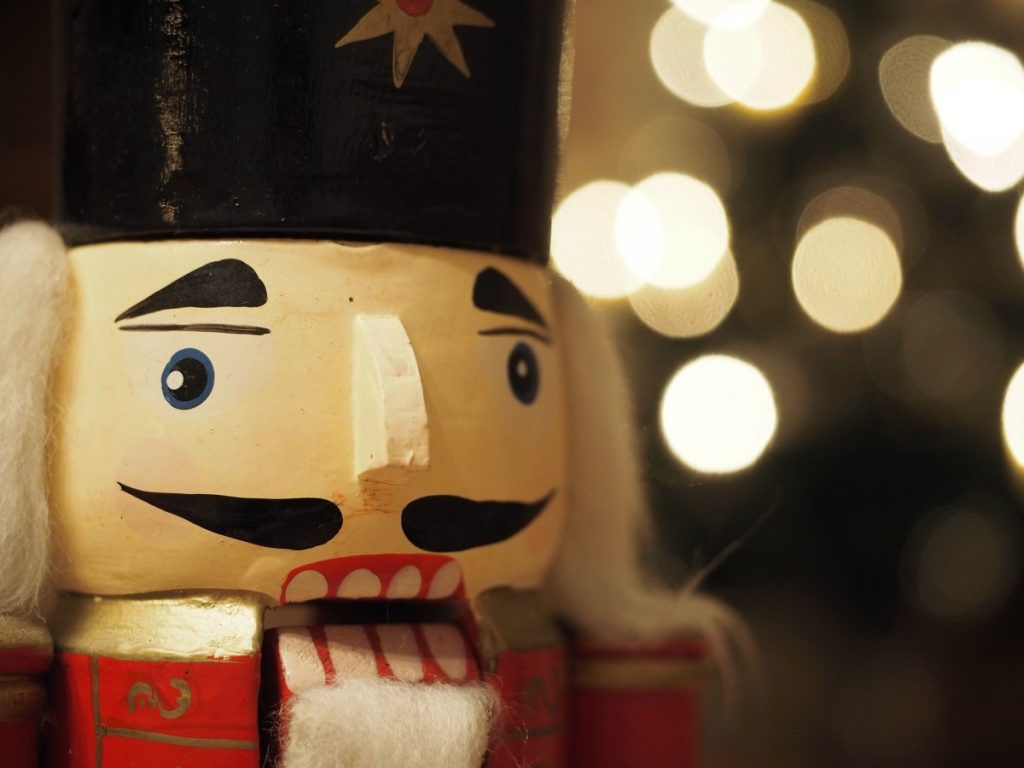 nutcracker face from Nutcracker Museum in Leavenworth