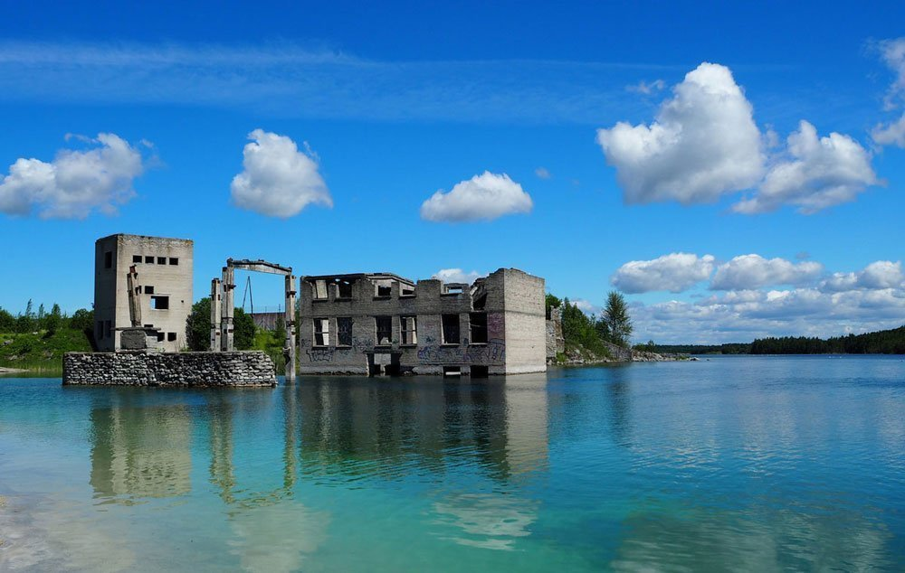 Rummu Underwater Prison things to do in Estonia