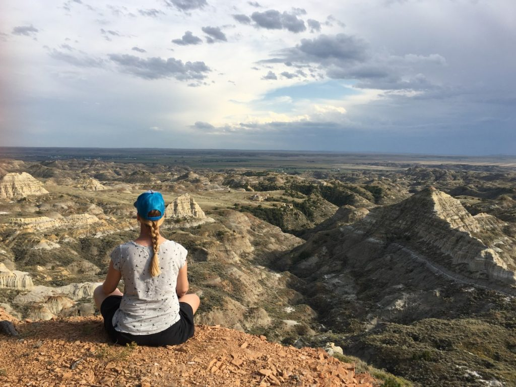 overlooking the Terry Badlands in southeast Montana