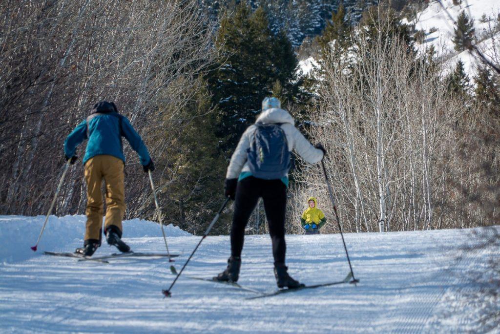 cross country skiing near Pocatello