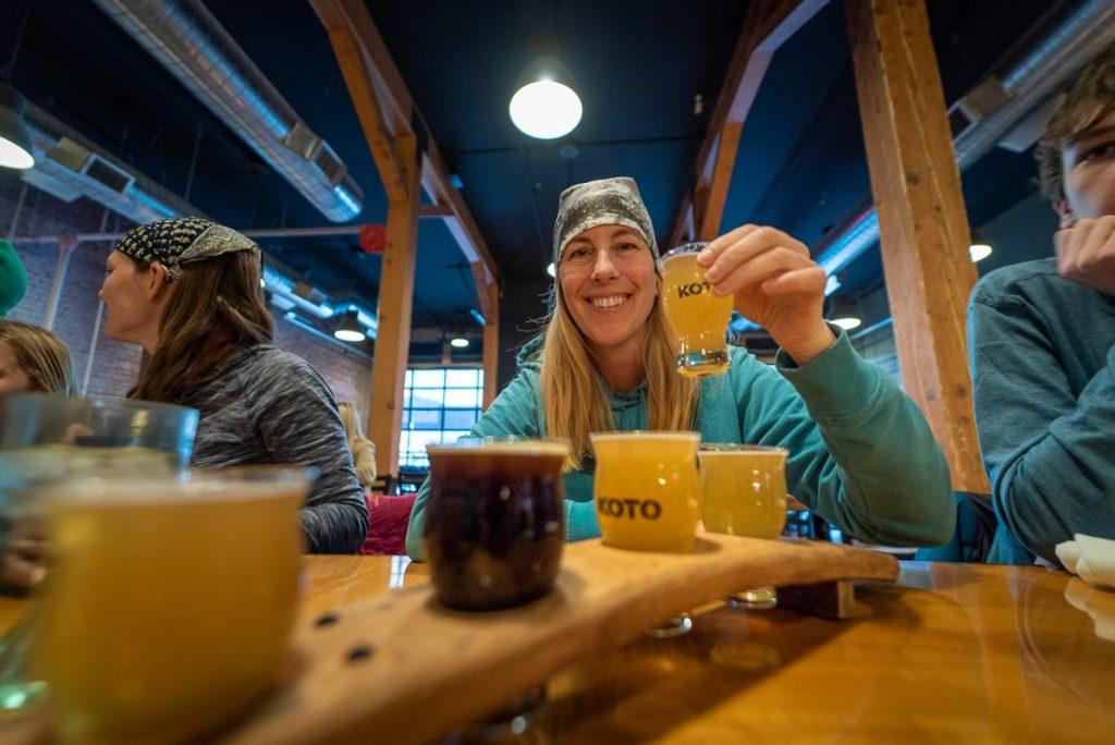 Kyoto Brewery beer tasting in Idaho