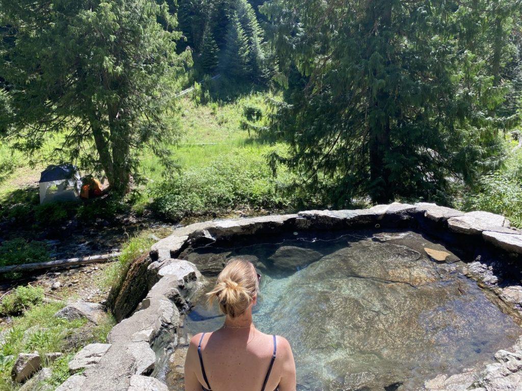 Weir Creek Hot Springs in Idaho