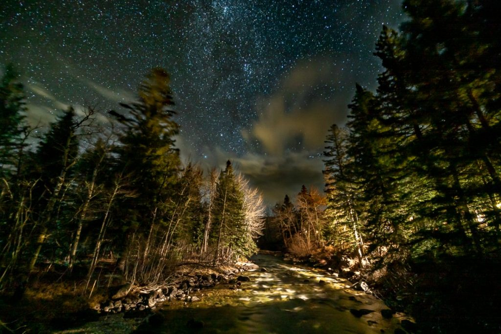 stars and night sky in red lodge montana