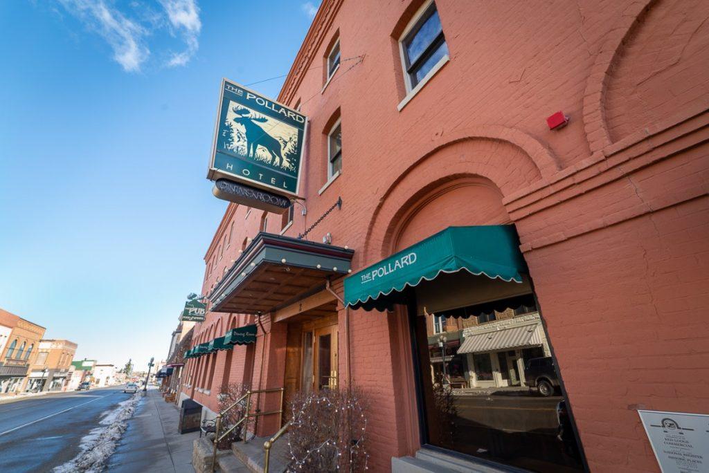 Red Lodge best restaurant in the Pollard Hotel