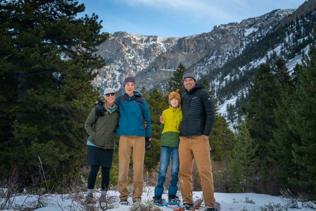 snowshoeing in red lodge montana