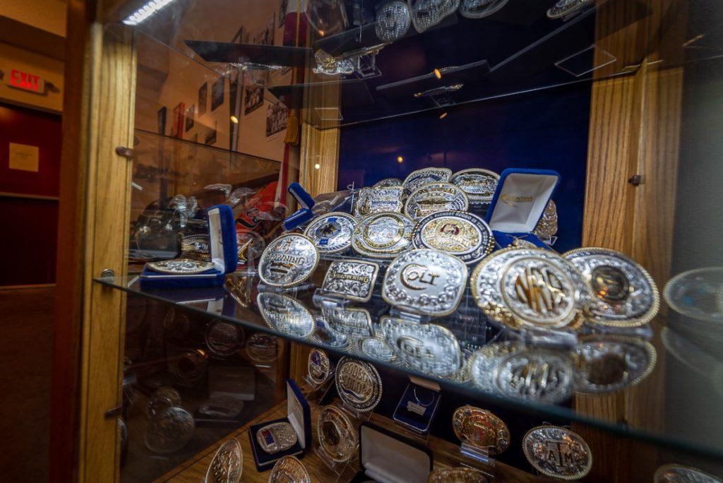 silver belt buckles