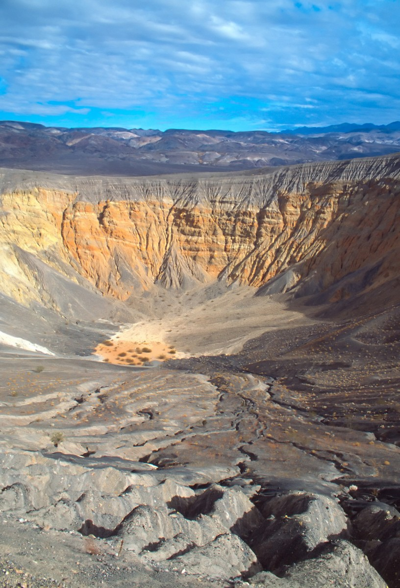 Death Valley National Park Ubehebe Crater