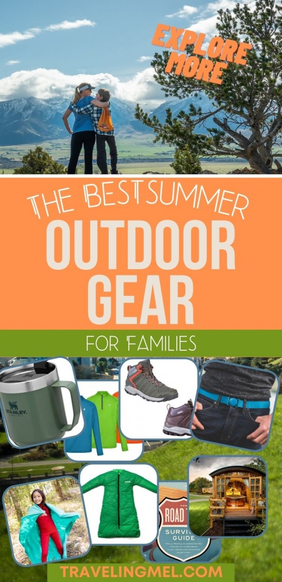 collage of best outdoor gear