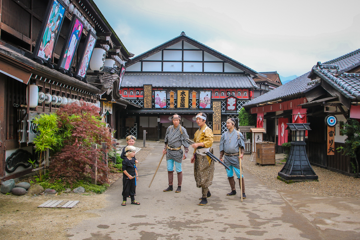 cool things to do in Japan include a visit to Nikko Edo Wonderland to see ninjas