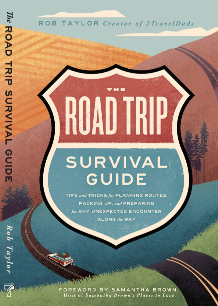 The Road Trip Survival Guide by Rob Taylor book cover