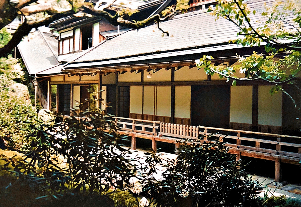 experiences in Japan should include a ryokan onsen