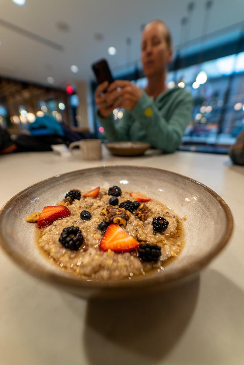 porridge at Rosewilde