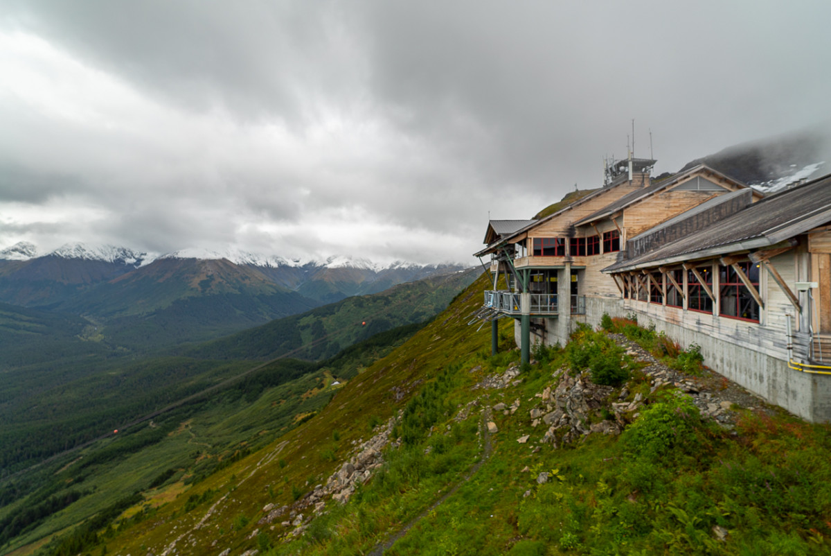 Alyeska Resort in Girdwood Alaska makes a great day trip from Anchorage