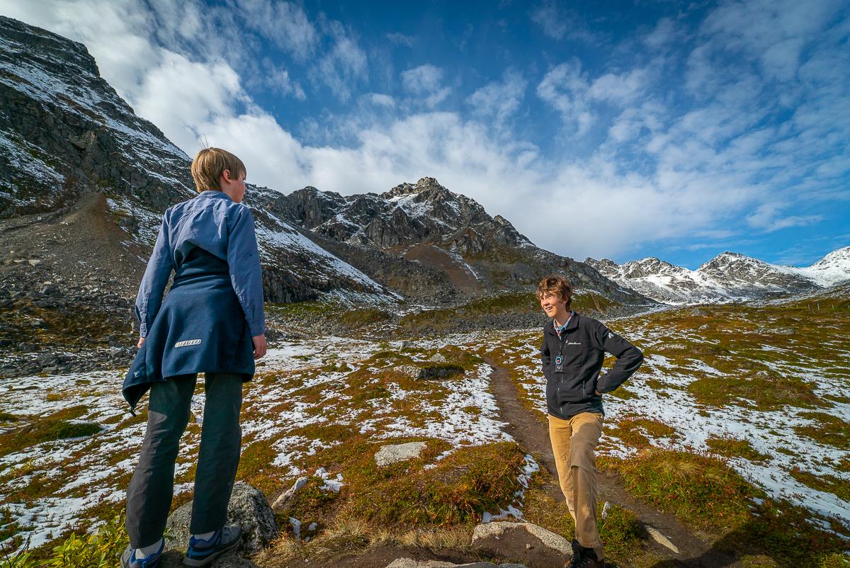 hiking near anchorage ak
