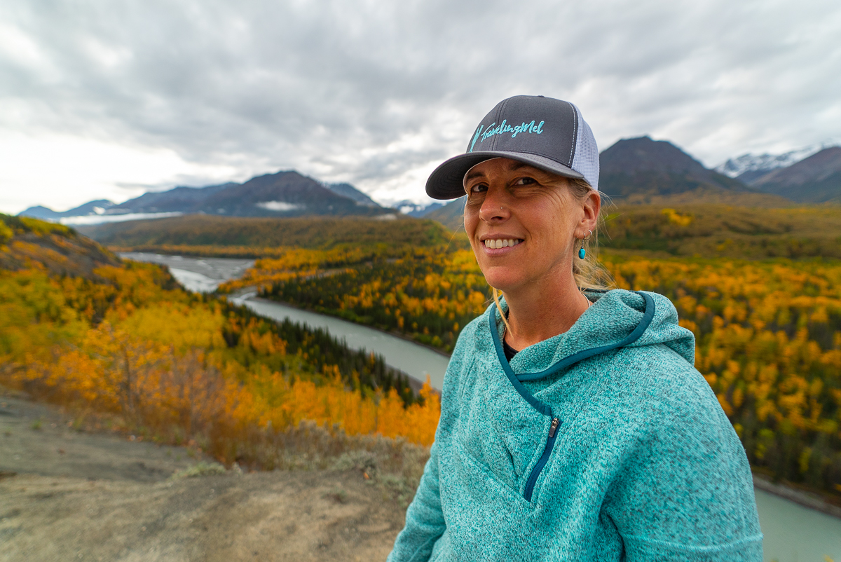 best fall colors in Alaska in the Mat-Su Valley