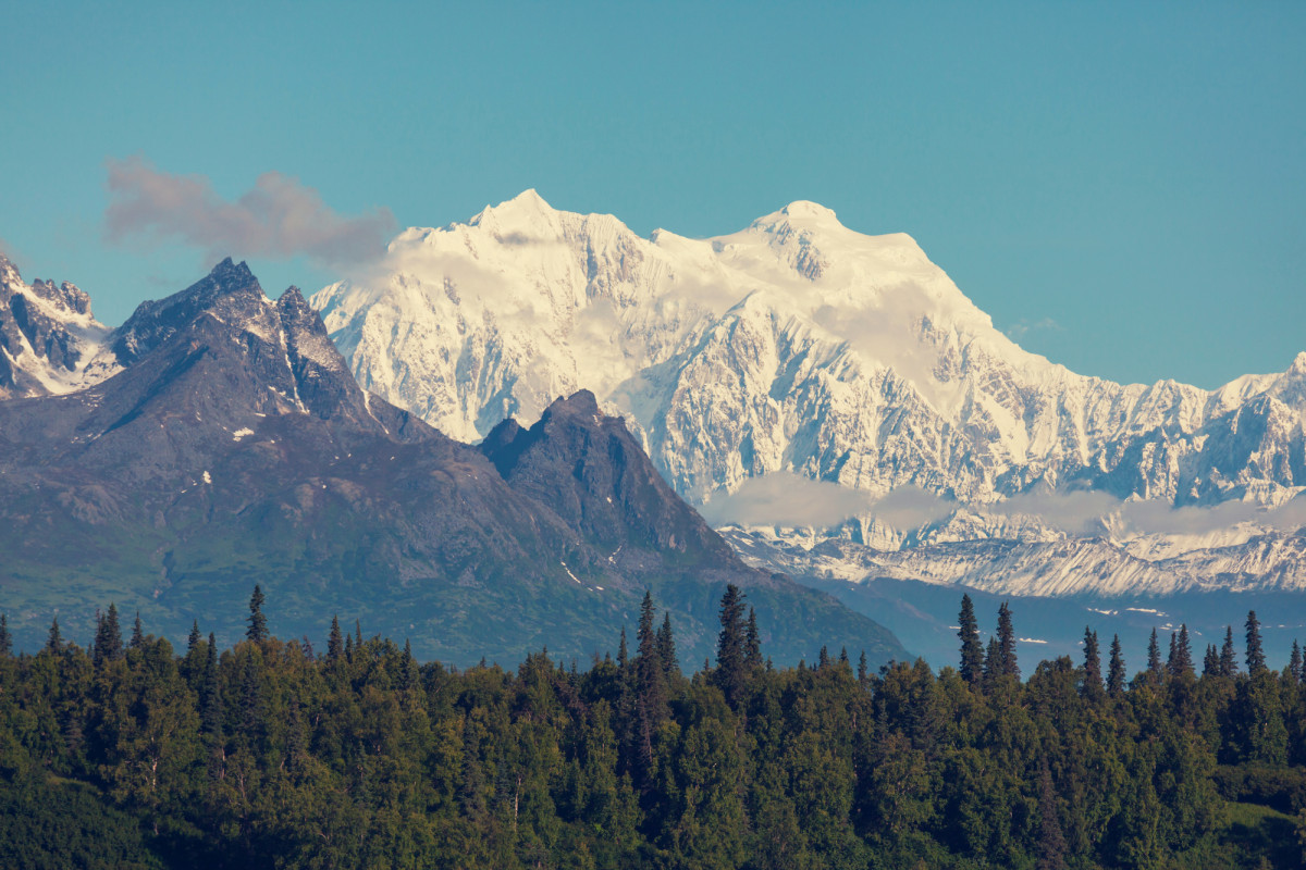 Denali National Park is a day trip from Anchorage