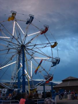 Ferris Wheel at the Park County Fair 2007