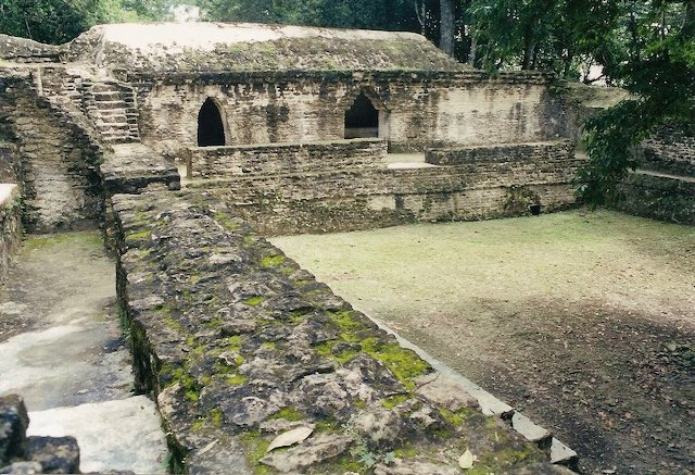 Exploring Cahal Pech in Belize