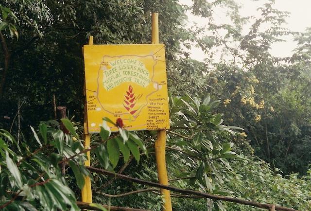 Enrty sign at Masewal Forest Garden